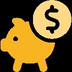 Icon Saving Dollar